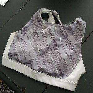 Joylab grey/ silver sport bra